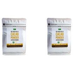 Bộ 2 túi bột Cacao nguyên chất hữu cơ Hola Andina 200g Nhật Bản