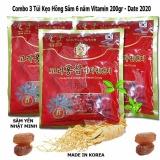 Bộ 3 Goi Kẹo Hồng Sam Vitamin 6 Năm Tuổi Han Quốc 200G Goi X 3 Mới Nhất