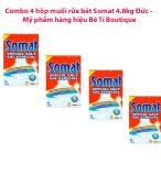 Giá Bán Bộ 4 Hộp Muối Rửa Bat Ly Somat 4 8Kg Hiệu Somat Của Đức Somat