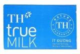 Ôn Tập Bọ 48 Họp Sữa Th True Milk Ít Đường 180Ml