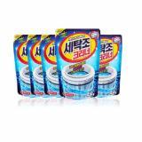 Bán Bộ 5 Goi Bột Tẩy Vệ Sinh Lồng May Giặt Korea Sandokkaepi 450G Hh6H Rẻ
