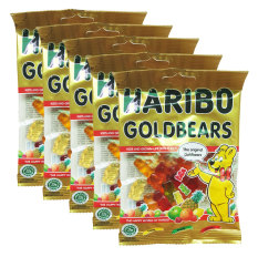 Mua Bộ 5 Goi Kẹo Dẻo Haribo Goldbears 80G