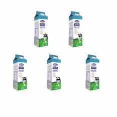 Bộ 5 Hộp Sữa tươi thanh trùng Vinamilk 100% Không đường 900ml