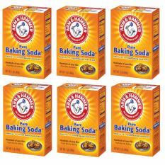 Giá Bán Rẻ Nhất Bộ 6 Hộp Baking Soda Bột Đa Năng 454Gr X 6 Usa