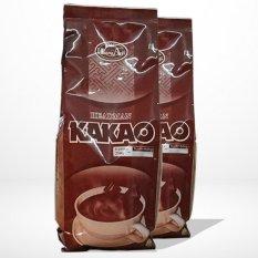 Bột cacao Headman ( 2 in 1 ) Túi thiếc 500 gr ( Bộ 2 gói)