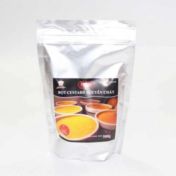 Bột custard nguyên chất TNH 500g