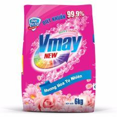 Giá Bán Bột Giặt Vmay Hương Hoa 6 0Kg Vmay Trực Tuyến