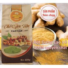 Bột Gừng Cạo Vỏ Nong Sản Vang 500Gr Hồ Chí Minh Chiết Khấu 50