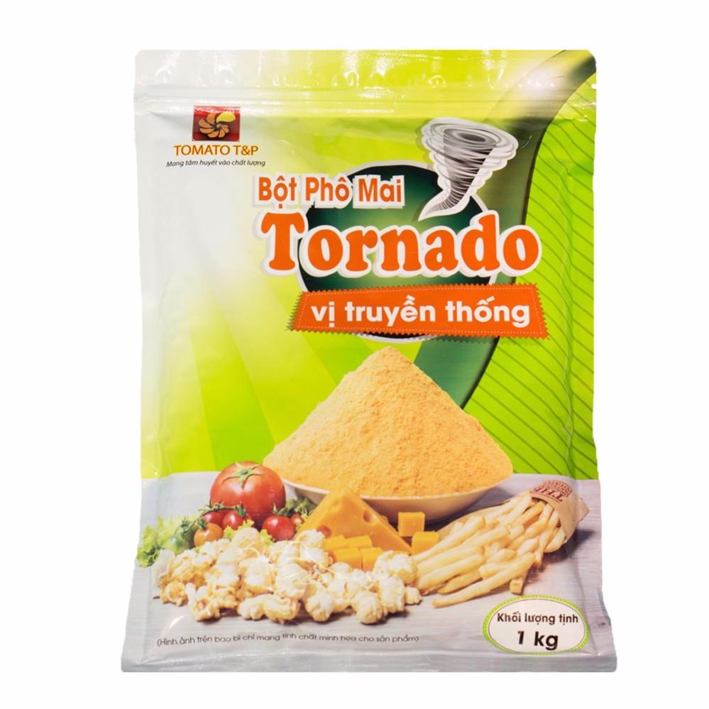 [HCM]Bột phô mai Tornado vị truyền thống gói 1kg