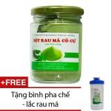 Ôn Tập Bột Rau Ma Co Cự Loại Pha Uống 100G Tặng Binh Pha Chế Lắc Rau Ma Trà Xanh Bảo Lộc