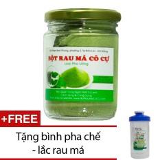 Mua Bột Rau Ma Co Cự Loại Pha Uống 100G Tặng Binh Pha Chế Lắc Rau Ma Trà Xanh Bảo Lộc