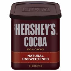 Bột Socola Hershey's Cocoa 100% Cacao 226g (Hộp)