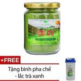 Bán Bột Tra Xanh Co Cự Loại Thuần Việt 100G Tặng Binh Pha Chế Lắc Tra Xanh