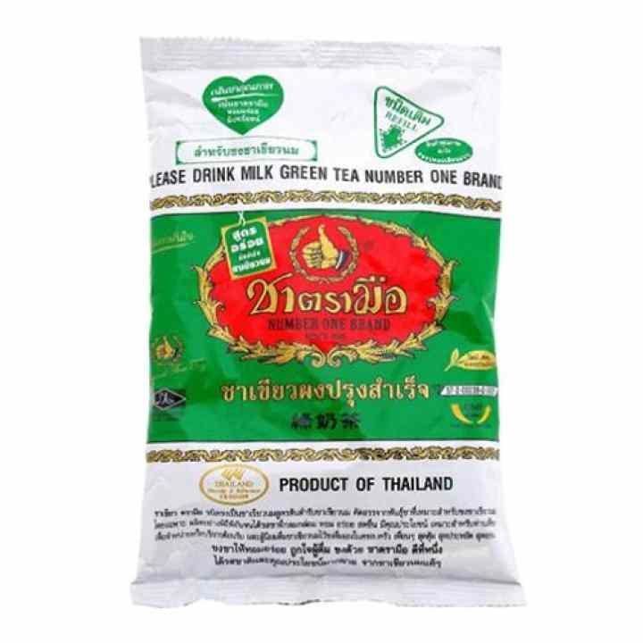 Bột trà xanh - Pha trà sữa Thái Lan 200g