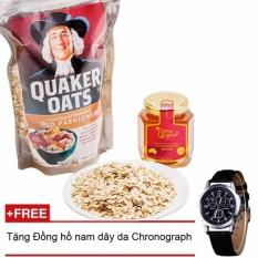 Giá Bán Bột Yến Mạch Quaker Oats 500G Tặng Đồng Hồ Nam Day Da Rẻ Nhất