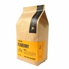 Cà phê nguyên chất cà phê xuất khẩu loại 1 cà phê rang mộc CULI ROBUSTA 333G