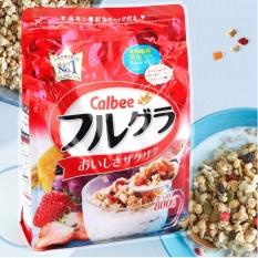 Mã Khuyến Mại Calbee Ngũ Cốc Hoa Quả Nhật Bản 800Gr Japan