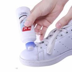 Hình ảnh Chai nước lau trắng giầy dép, túi sách da Plac (T69)