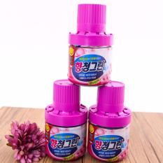 Chai sáp thơm Hàn Quốc thả bồn cầu khử mùi, diệt khuẩn