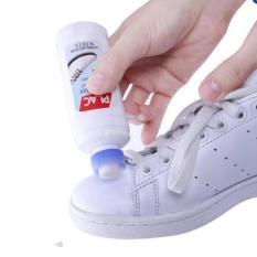 Chai xịt tẩy trắng giày dép túi xách Plac - đầu bàn chải hiệu quả