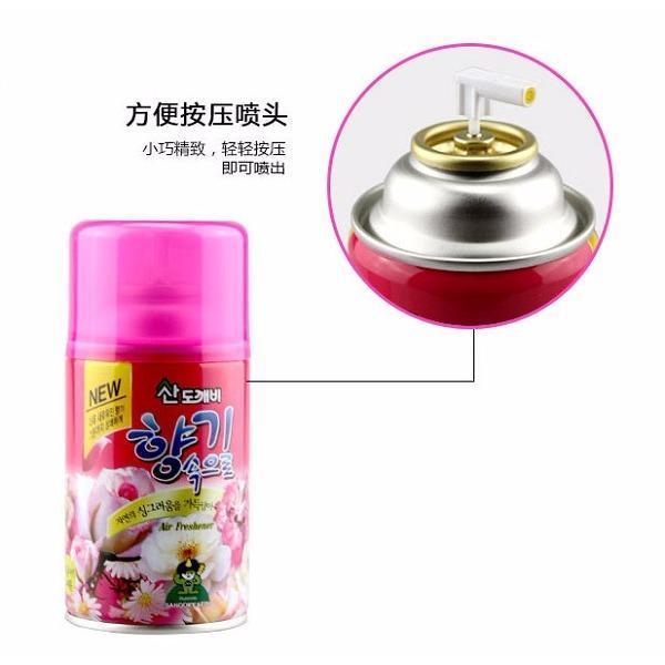 Chai Xịt Thơm Phòng Khử Mùi Sandokkaebi Korea 300ml (Hương Peach)