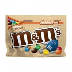 Chocolate sữa hạnh nhân  M&M 209gr