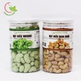Mua Combo 1 Goi Hạt Điều Rang Muối Va 1 Goi Hạt Điều Wasabi Greend Food Thượng Hạng 350G Goi Mới Nhất