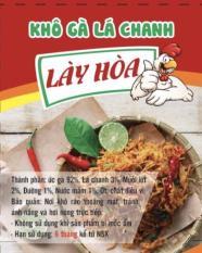 Combo 1 Kg Kho Ga La Chanh Cay Gion 500G Va Kho Ga La Chanh Cay Sợi Mềm 500G Hồ Chí Minh Chiết Khấu 50