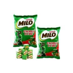 Hình ảnh Combo 2 bịch kẹo viên MILO CUBE 100 viên cho bé (275g)