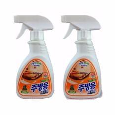 Hình ảnh Combo 2 chai Xịt tẩy vệ sinh nhà bếp Hàn Quốc Sandokkaebi 300ml