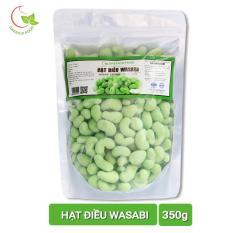 Ôn Tập Combo 2 Goi Hạt Điều Wasabi Greend Food Thượng Hạng 350G Light Coffee