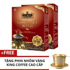 Ôn Tập Combo 2 Hộp King Coffee Gourmet Blend 500 G Tặng 1 Phin Nhom Vang Cao Cấp Trong Hồ Chí Minh