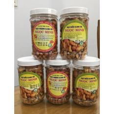 Combo 2 hủ (1 hủ hạt điều rang tỏi ớt 250gr + 1 hủ đậu phộng rang tỏi ớt 250gr )- An toàn, chất lượng, vệ sinh