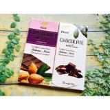 Bán Combo 2 Thanh Chocolate Đắng 100 Cacao Hạnh Nhan 200G Figo Hồ Chí Minh