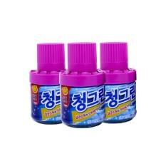 Combo 3 lọ cốc thả bồn cầu Hàn Quốc hương Lavender