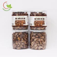 Mã Khuyến Mại Combo 4 Hộp Hạt Điều Rang Muối Vỏ Lụa Greend Food Thượng Hạng 250G Hồ Chí Minh