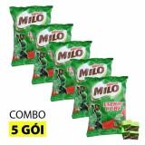 Combo 5 Bịch Kẹo Vien Milo Cube 100 Vien Cho Be 275G Mới Nhất