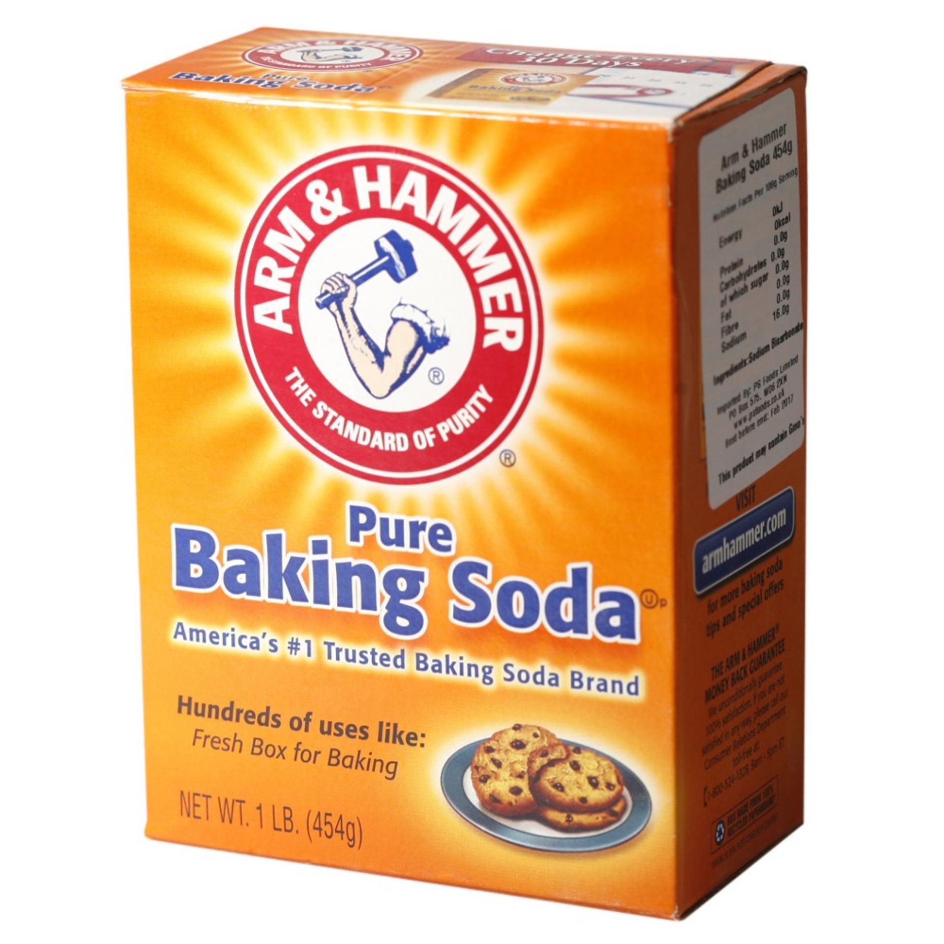 5 Bột Baking Soda Đa Công Dụng 454g cao cấp