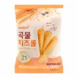 Combo 5 gói Bánh Xốp Ngũ Cốc Nhân Phô Mai Grain Cheese Roll Hàn Quốc 80g