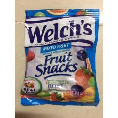 Hình ảnh combo 5 goi Kẹo Dẻo Welch's Fruit Snacks Mỹ 25,5g