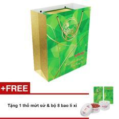 Bán Tui Qua Tết 1 Lon Anlene Gold Movepro™ Hương Vani 800G Tặng 1 Thố Mứt Sứ Bộ 8 Bao Li Xi Anlene