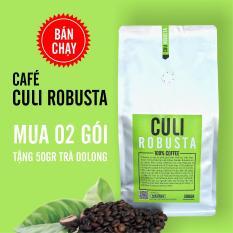 Cà phê Culi Robusta nguyên chất 500g - The Kaffeine