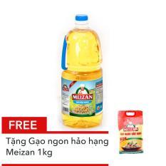 Hình ảnh Dầu thực vật cao cấp Meizan 2L tặng Gạo ngon hảo hạng Meizan 1kg