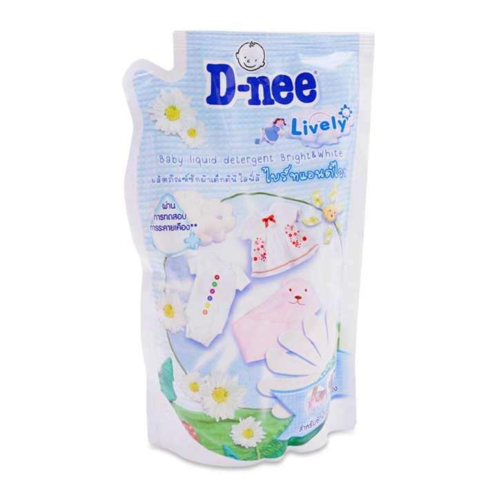 Dung dịch giặt xả quần áo trẻ em D-nee Happy...