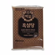 Bán Đường Nau Đen Nhập Khẩu Han Quốc 2Kg Beksul Dark Brown Sugar 백설 백설 갈색설탕 Trực Tuyến Trong Hà Nội