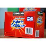 Giấy Thơm Quần Ao Kirkland Fabric Softener Sheets 250 Tờ Của Mỹ Kirkland Signature Chiết Khấu 30