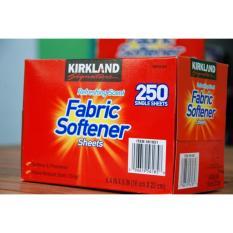 Ôn Tập Cửa Hàng Giấy Thơm Quần Ao Kirkland Fabric Softener Sheets 250 Tờ Của Mỹ Trực Tuyến