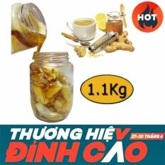 Giá Bán Gừng Ngam Mật Ong Nguyen Chất Lọ 1 1Kg Nguyên