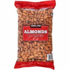 Chiết Khấu Hạnh Nhan Khong Muối Kirkland Signature Almonds 1 36Kg