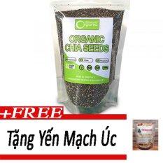 Hạt chia Organic Chia Seeds Australia 1kg+yến mạch úc